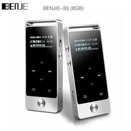 Argentina BENJIE S5 Reproductor de MP3 HIFI de pantalla táctil de 8GB BENJIE S5 Metal Alta calidad de sonido Nivel de entrada Sin pérdida Reproductor de música Soporte Tarjeta TF cheap touch screen mp3 music player Suministro