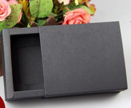 2019 оптовая продажа подарочной коробки крафт черный выдвижной ящик для подарочной упаковки для свадебной упаковки картонные коробки крафт оптом, черный ящик для ящиков дешево дешево оптовая продажа подарочной коробки крафт
