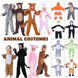 Rabatt Niedliche Kinder Tier Kostume 2019 Niedliche Kinder Tier