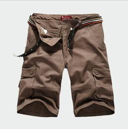 Canada Les designers de la marque -2018 Hot Brand Plus La Taille S-6XL D'été Hommes Cargo Work Casual Bermuda Shorts De Mode Hommes Pantalon Court Pantalones corto cheap army pants men designer Offre