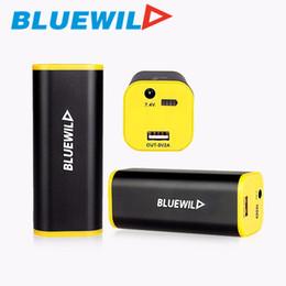 2019 imballaggio dell'altoparlante del bluetooth Originale 2in1 10400mAh Bike Anteriore Luce 7,4 V - 8,4 V Batteria Pack Testa Lampada Carica di carica per il telefono Altoparlante Bluetooth sconti imballaggio dell'altoparlante del bluetooth