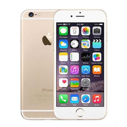 "Wholesale 16gb smart phone - 100% Original Apple iPhone 6 6 Plus Mobile phone 4.7"" inch 5.5"" inch 2GB RAM 16 64 128GB ROM Refurbished Unlocked 4G LTE Smart phone"