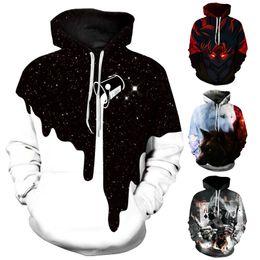 411757917d85c Fashion Sweatshirt Men 2018 3D Print Milk Wolf Hoodies Men Long Sleeve Anime  Winter Pullovers For Male Jacket XXXL