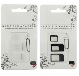 Noosy Nano SIM Card Adaptateur micro 4 en 1 avec clé à éjecter Adaptateur adaptateur pour carte SIM standard Nano Micro ? partir de fabricateur