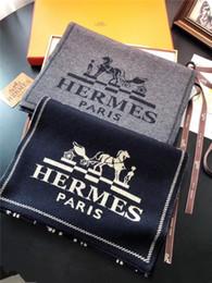 2018 Nova marca de luxo designer Paris Herm Lenço de Qualidade Superior Mulheres Homens Moda Xaile Caxemira Cachecóis 180 * 30 cm