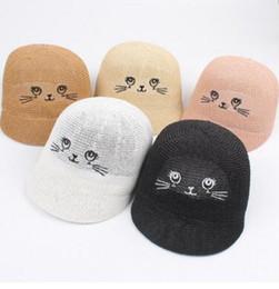primavera y verano nueva caricatura smiley gorra de montar lindo sombrero  de paja salvaje de los niños bebé lindo visera Kids Suncap bebé sombrero al  aire ... f28bf250d5f