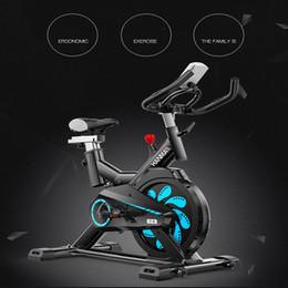 bicicletas de spinning Rebajas Spinning Indoor Cycle Bikes Tranquilo Tranquilo Máquina en forma de triángulo Perder caloría Home Exercise Bike Gym Equipment