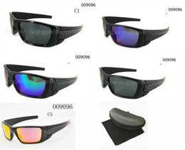Wholesale Hot Fuel - Hot Selling 10pairs lot Cycling Sunglass For Men women fuel cell Sunglasses with box Outdoor Sport sunglasses Google Glasses 5color.