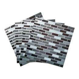 """Deutschland 3D Wandaufkleber für Peel und Stick Wandfliesen Küche Backsplash Tile 9 """"x 9"""" Peel und Stick Wallpaper, 4er Set Versorgung"""