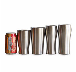 Wholesale Tea Tumbler Wholesale - Beer Cup Double Wall Stainless Steel Vacuum Insulated Tumbler Travel Mug Thermos Coffee Mugs Tea water Cup