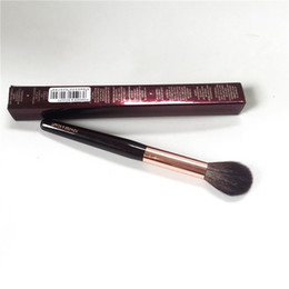 Charlotte_T Puder-Sculpt-Pinsel - Eichhörnchen-Haar-Ziegen-Haar-Mischung weicher Textmarker-Sculpting-Pinsel - Schönheits-Make-upmischer-Werkzeug von Fabrikanten