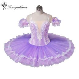 Tutus de ballet classique en Ligne-Tutu de ballet classique adulte violet clair de ballet classique tutu, costumes de ballet à vendre, costume de danse tutu pour womenBT8964C