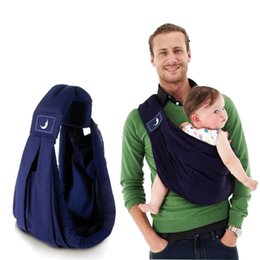 Wholesale infant carry bag - Carriers Slings Infant newborn Baby lattice carrier Sling wrap kids Nursing bag Pouch Baby Safety Gear 1898