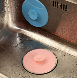 Wholesale Kitchen Drain Stopper - Creative Floor Drain Covers Foldable Anti Odor Tools Sewer Cove Kitchen Toilet Water Plugging Device Foldable Rubber Stopper 2 4hg X