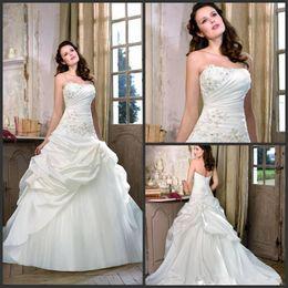 2020 melhores vestidos de cetim Best Selling 2019 Glamour A-line Lace Up Babados Cetim Marfim Vestidos de Noiva Belo Flare Vestido de Noiva Divid8318 desconto melhores vestidos de cetim