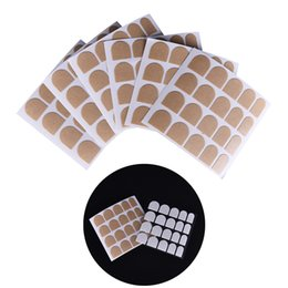 Adesivi nastro carino online-5 Fogli per unghie Arte Unghie Art Biadesivo Nastro adesivo Sticky False Nail Tips Biadesivo Nastri adesivi