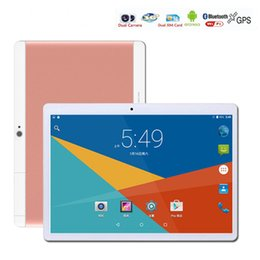 Wholesale Call Tab - 10.1 Inch Tablet PC Android 6.0 Tab Pad 4G RAM 64G ROM octa core 2560*1600 IPS Play Store Bluetooth 3G 4G LTE Phone Call 10.1