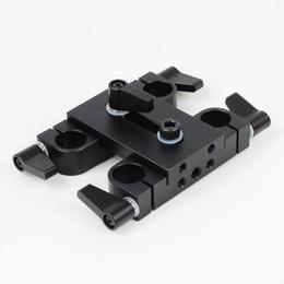 Adaptateur de pont en riser 60mm à 60mm 15mm Bride de fixation pour tige de 15mm avec système de support de tige LWS Arriflex ARRI DSLR Caméscope Rig V3 ? partir de fabricateur
