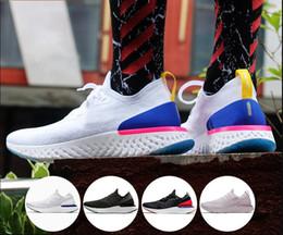 Al por mayor barato Epic React instantánea Go cómodo deportivo aumenta zapatos corrientes de los hombres de las mujeres mosca transpirable AQ0067-400 moda zapatillas deportivas desde fabricantes