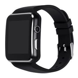 Argentina Nuevo reloj inteligente E6 con reloj de pulsera con Bluetooth para Android Samsung Huawei Sony Teléfono Tarjeta SIM en inglés Sleep Tracker X6 Smartwatch Suministro