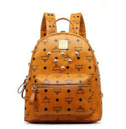 ce0975ef8129 China 2016 New Arrival Fashion School Bags Hot Punk style Women Backpack  Europe Student Backpack PU