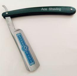 Wholesale Men Shaving Razor Blade - Gold Dollar 100 Carbon Steel Blade Shaver Shaving Straight Razor for Man Grooming Tool