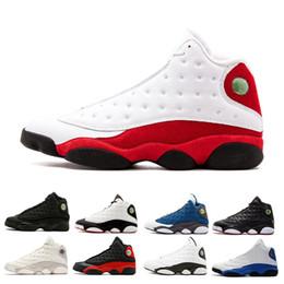 arrives ca8f3 dd984 Nouveau 13 hommes chaussures de basket-ball Il Got Game Phantom chat noir  élevé Chicago Hyper Royal Playoffs Italie Blue Barons Altitude entraîneur  sport ...