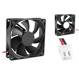 2019 ventilador de refrigeração de 12v cpu Atacado-YOC-5psc 92 milímetros x 25 milímetros DC 12V 2Pin 65.01CFM Computador CPU Cooler Fan Cooling desconto ventilador de refrigeração de 12v cpu