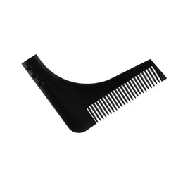 c2946f1f9d2 China Durable Plastic Men Beard Trimmer Comb 2 Colors Gentleman Beard  Shaving Molding Combs Template Trimming