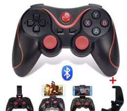 Canada T3 Bluetooth Gamepad Pour Android Téléphone Pad Smart Box PC Joystick Sans Fil Bluetooth Joypad Contrôleur De Jeu Avec Support Mobile Offre