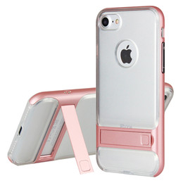 Wholesale Imported Roses - For iphone7 8 Case with Video Stand,Imported TPU+PC Transparent Soft Shell,Fit for Kids,Boys,Girls