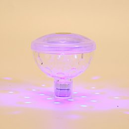 Wholesale led floating lanterns - Mini Colorful Waterproof Lantern 5 Modes Fashion Pool DÉCor LED Lights For Swim Party Fun Style Colorful Design Floating Lamp New 14gj ZZ