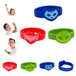 PJ Caractères Catboy Owlette Gekko Cape Masques Action Figure Jouets Gel De Silice Bracelet Enfants Cadeaux PJ MASQUES Bracelet LC846 ? partir de fabricateur