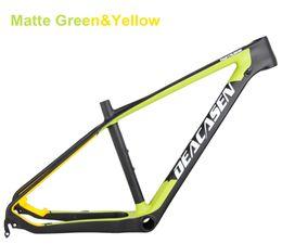 Wholesale 29er carbon mountain bike - Deacasen 29er chinese carbon frames 14 15 16 17 19 inch 29 carbon mountain bike frameset EMS shipping carbon mtb frame