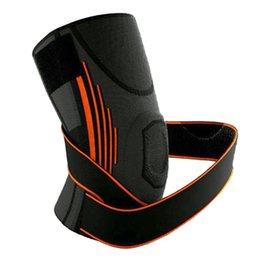 Wholesale clothes support - Knee Support Pad Brace Compression Protective Clothing Sports Accessory Black