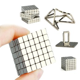 Wholesale Magnetic Cubes - New Magic Magnetic Cube 216pcs Mini DIY Magnet Decompress Toy Cubes 3d Dimensional Cube Toy Plaything Magnetic Cube