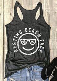 сексуальные обтекатели Скидка Топы женщины лето рукавов топы tee отдых пляж лицо О-образным вырезом танк повседневная женский Harajuku дамы Tee