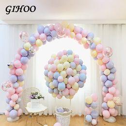 5 дюймов 100/200 шт. Macaron воздушный шар конфеты цвет баллон Mariage выпускной декор душа ребенка свадебные украшения выступает баллоны от