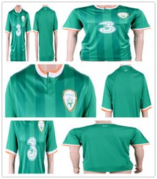 f4073b6fb70 Football shirt Thai quality 2018 World cup Ireland home green blank custom  name soccer jersey wholesale