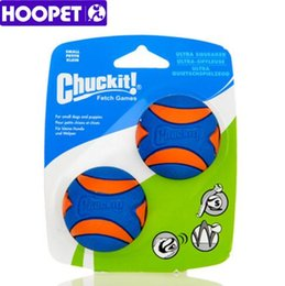 Wholesale Natural Puppy - HOOPET Dog Toys & Chews Pet Dog Puppy Squeaky Chew Toy Sound Pure Natural Non-toxic Rubber Resistant to Bite Teeth Cleaner Ball Top Quality
