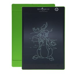 Wholesale graphic pen pad - 9.7 inch LCD Writing Tablet Thick Pen Version Electronic Blackboard Handwriting Pad Digital Drawing Board Painting Graphics Tablets