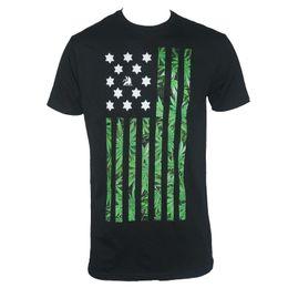 b2799691e6e3 Authentic Wholesale Discount Rasta Nation Wholesale Discount Pot Flag Black  T-shirt S - 3xl New 2018 Brand T Shirt Men Fashion Fashion Style
