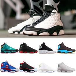 Canada 2018 Nouveau 13 Chaussures de basket-ball Dmp Hommes Femmes Cool Grey 13s Low Hommes Femmes Sport cat noir Classe de 2003 Sneakers 40-46 supplier class arts Offre