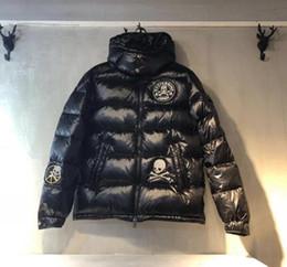 Chaquetas de plumón de invierno para hombre Mastermind Japón MMJ Shantou Chaqueta de abrigo gruesa con capucha cálida Abrigos Pato blanco de hombre Abajo Parkas desde fabricantes