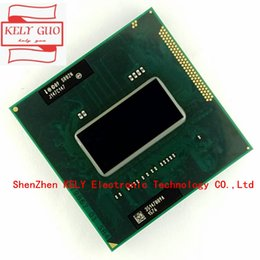 Wholesale Cpu Processor I7 - New Original CPU I7-2670QM SR02N I7 2670QM SRO2N 2.2G-3.1G 6M For HM65 HM67 Laptop Processor