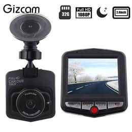 "Wholesale Car Dvr G Sensor - Wholesale-Gizcam 1 Set Full HD 1080P 30fps Video Camera 2.4"" LCD Car DVR Dashcam G-Sensor IR Night Vision Mini Cam Camcorder"