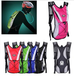 Wholesale Hydration Backpack Wholesale - Outdoor Camping Water Bladder Bag Backpack Hiking Camping Bag Water Pack Sports Climbing Pouch Hydration Bladder KKA4886
