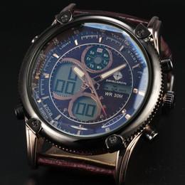 2020 проектирование водных часов 2016 New Dual Display Men's Watches Retro LED Digital Watch Men Fashion Water Resist Design Quartz Clock  Sport Watch Man дешево проектирование водных часов