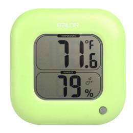Canada Nouveau thermomètre à affichage digital température intérieure station météo hygromètre électronique hygromètre cheap indoor electronic display Offre