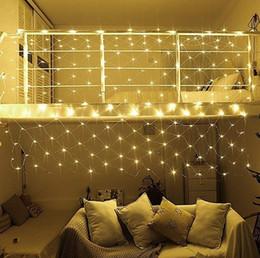 2019 reti di albero LED Fairy String, 9,8ft x 6,6ft 200 LED 8 modalità Net Mesh Tree-wrap Lights per decorazioni da giardino per la casa di nozze reti di albero economici
